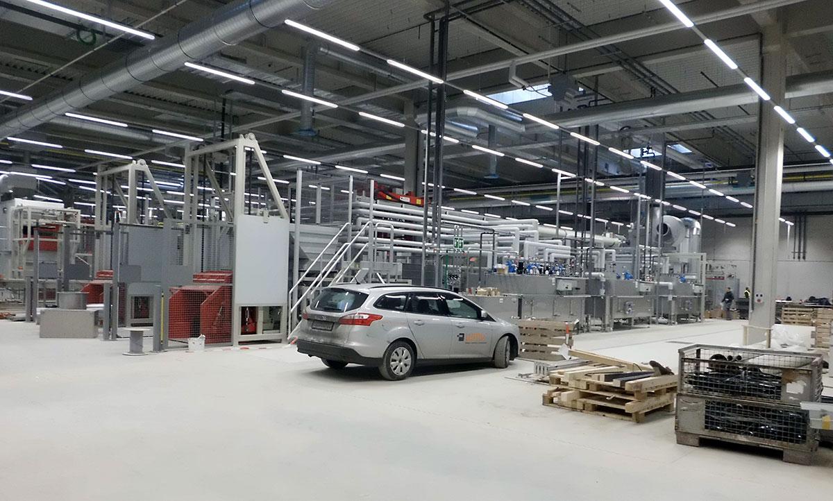 Neubau Metallverarbeitung
