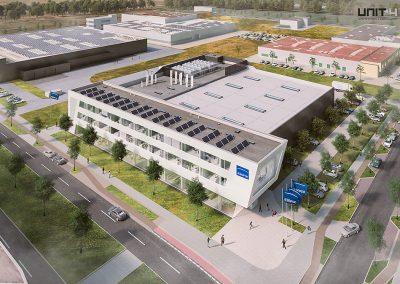 Laser-Produktionsstätte